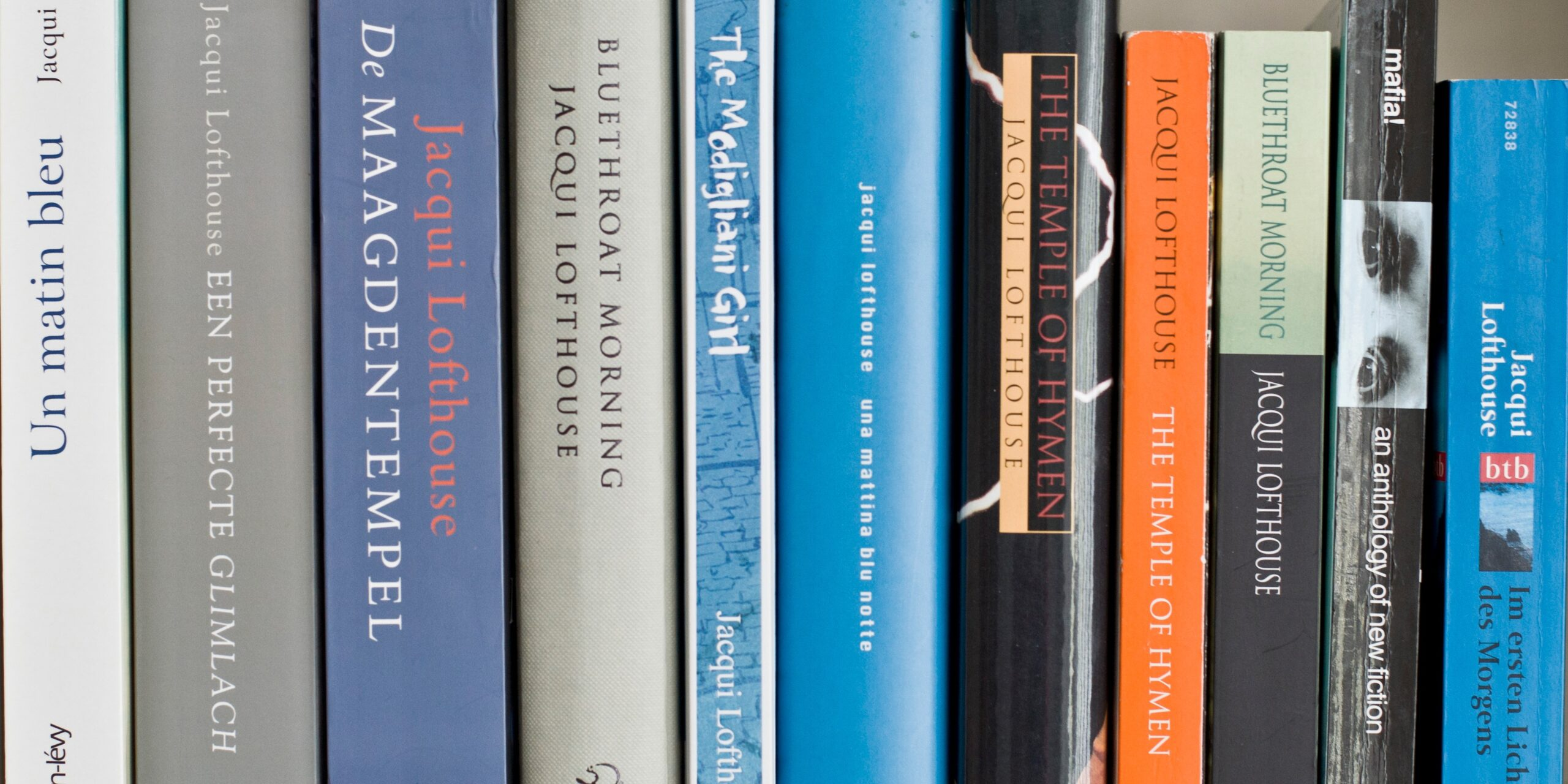 Novels by Jacqui Lofthouse
