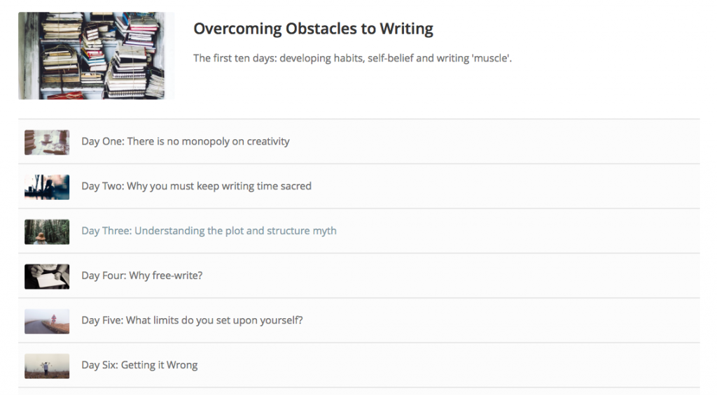 online writing course, literary consultancy, mentor for writers