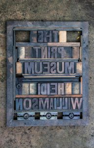 The Print Museum by Heidi Williamson